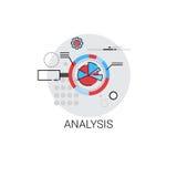 Οικονομικό εικονίδιο επιχειρησιακής ανάλυσης Analytics Στοκ εικόνες με δικαίωμα ελεύθερης χρήσης