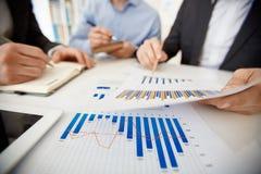 Οικονομικό διάγραμμα Στοκ φωτογραφίες με δικαίωμα ελεύθερης χρήσης
