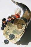 Οικονομικό κέρας της Αμαλθιας Στοκ φωτογραφία με δικαίωμα ελεύθερης χρήσης