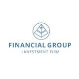 Οικονομικό σταθερό λογότυπο ομάδας επένδυσης προγραμματισμού χρηματοδότησης Στοκ Εικόνες