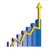 οικονομικό διάνυσμα Στοκ Εικόνες