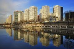 Οικονομικό centerï ¼ Κίνα πόλεων cBD-Πεκίνο Στοκ Εικόνες