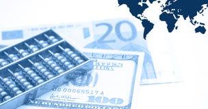 οικονομικό montage απεικόνιση αποθεμάτων