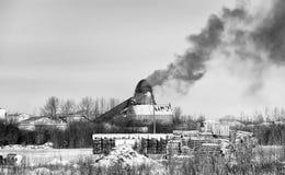 οικολογική περιβαλλοντική ρύπανση φωτογραφιών κρίσης Στοκ Φωτογραφίες