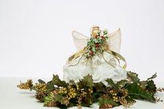 οικολογικός ξύλινος διακοσμήσεων Χριστουγέννων Στοκ Φωτογραφία