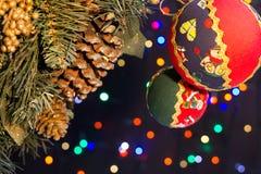οικολογικός ξύλινος διακοσμήσεων Χριστουγέννων στοκ εικόνες με δικαίωμα ελεύθερης χρήσης