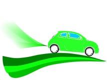 Οικολογικό αυτοκίνητο Στοκ εικόνα με δικαίωμα ελεύθερης χρήσης