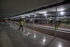Οικοδομές του μετρό του Ρίο στους Ολυμπιακούς Αγώνες 2016 Στοκ Εικόνα