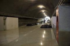 Οικοδομές του μετρό του Ρίο στους Ολυμπιακούς Αγώνες 2016 Στοκ Φωτογραφίες