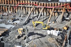 Οικοδομές Στοκ Εικόνα