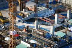 Οικοδομή, πόλη της Ασίας Στοκ εικόνα με δικαίωμα ελεύθερης χρήσης