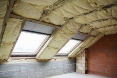 Οικοδόμηση ενός σπιτιού Στοκ Φωτογραφίες