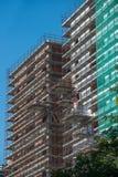 Οικοδόμηση κάτω από την κατασκευή Στοκ φωτογραφία με δικαίωμα ελεύθερης χρήσης