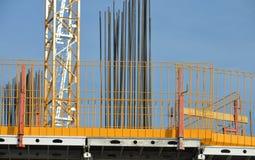 Οικοδόμηση κάτω από την κατασκευή Στοκ Εικόνα