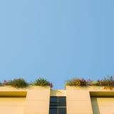 οικοδόμηση κίτρινη Στοκ φωτογραφία με δικαίωμα ελεύθερης χρήσης
