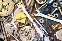 Οικοδόμηση και μέτρηση των εργαλείων Στοκ φωτογραφίες με δικαίωμα ελεύθερης χρήσης