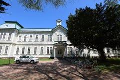 Οικοδόμηση κολλεγίων πανεπιστημιουπόλεων του πανεπιστημίου του Hokkaido Στοκ Εικόνες