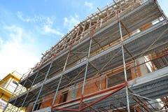 οικοδόμηση κτηρίου κάτω Στοκ Φωτογραφία