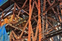 οικοδόμηση κτηρίου κάτω &alpha Στοκ Φωτογραφία