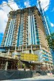 Οικοδόμηση κτηρίου του Μαϊάμι Στοκ φωτογραφία με δικαίωμα ελεύθερης χρήσης