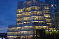 Οικοδόμηση πανιών του Frank Gehry Στοκ Φωτογραφία