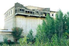 οικοδόμηση παλαιά Μπαλκόνια Woden Στοκ εικόνες με δικαίωμα ελεύθερης χρήσης