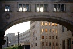 Οικοδόμηση της σύνθετης γερμανικής τράπεζας Βερολίνο Στοκ Εικόνα