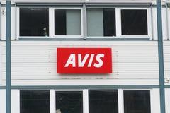 Οικοδόμηση της Avis στοκ φωτογραφία με δικαίωμα ελεύθερης χρήσης