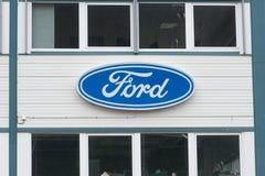 Οικοδόμηση της Ford Στοκ φωτογραφίες με δικαίωμα ελεύθερης χρήσης
