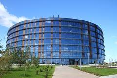 Οικοδόμηση του βιομηχανικού πάρκου σε Innopolis Ρωσία Στοκ Φωτογραφία