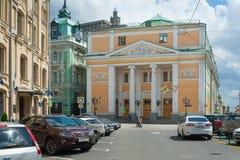 Οικοδόμηση του Εμπορικού και Βιομηχανικού Επιμελητηρίου του Ρώσου στοκ φωτογραφία με δικαίωμα ελεύθερης χρήσης