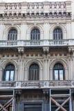 οικοδόμηση του ιστορικού Μοντεβίδεο Ουρουγουάη Στοκ εικόνες με δικαίωμα ελεύθερης χρήσης