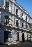οικοδόμηση του ιστορικού Μοντεβίδεο Ουρουγουάη Στοκ Φωτογραφίες