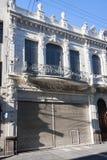 οικοδόμηση του ιστορικού Μοντεβίδεο Ουρουγουάη Στοκ φωτογραφίες με δικαίωμα ελεύθερης χρήσης