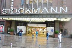 Οικοδόμηση του καταστήματος Stockmann στο Ελσίνκι Στοκ Εικόνες