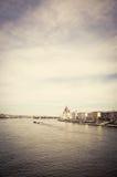 Οικοδόμηση του Κοινοβουλίου στη Βουδαπέστη Στοκ φωτογραφία με δικαίωμα ελεύθερης χρήσης