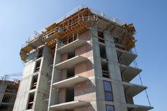 Οικοδόμηση του κτηρίου - που χτίζει ένα σπίτι  Στοκ Εικόνες