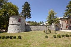 οικοδόμηση του μοναστηριού στοκ εικόνα με δικαίωμα ελεύθερης χρήσης