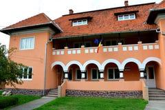 Οικοδόμηση του μουσείου Ulpia Traiana Αουγκούστα Dacica Sarmizegetusa Στοκ φωτογραφίες με δικαίωμα ελεύθερης χρήσης