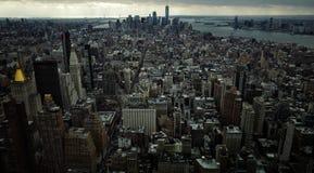οικοδόμηση του νέου κράτους ΗΠΑ Υόρκη του Μανχάτταν αυτοκρατοριών Στοκ Εικόνες