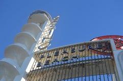 Οικοδόμηση του Art Deco - παραλία ευχαρίστησης του Μπλάκπουλ στοκ φωτογραφίες με δικαίωμα ελεύθερης χρήσης