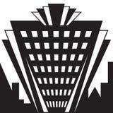 Οικοδόμηση του Art Deco Στοκ φωτογραφία με δικαίωμα ελεύθερης χρήσης