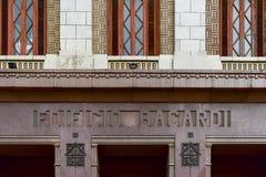 Οικοδόμηση του Bacardi - Αβάνα, Κούβα Στοκ Εικόνες