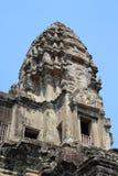Οικοδόμηση Angkor Wat το πρωί, Καμπότζη Στοκ Φωτογραφίες