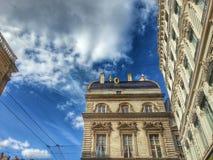 Οικοδόμηση Tha hotel de ville παλαιά πόλη της Λυών, Λυών, Γαλλία Στοκ φωτογραφία με δικαίωμα ελεύθερης χρήσης