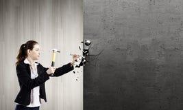 Οικοδόμος γυναικών Στοκ Φωτογραφία
