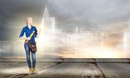 Οικοδόμος γυναικών Στοκ φωτογραφία με δικαίωμα ελεύθερης χρήσης