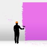 Οικοδόμος που χρωματίζει 03 Στοκ Φωτογραφία