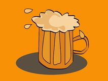 οινοπνευματώδες ποτό μπύρ Στοκ Φωτογραφίες