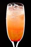οινοπνευματώδες κρύο cocktai Στοκ Φωτογραφία